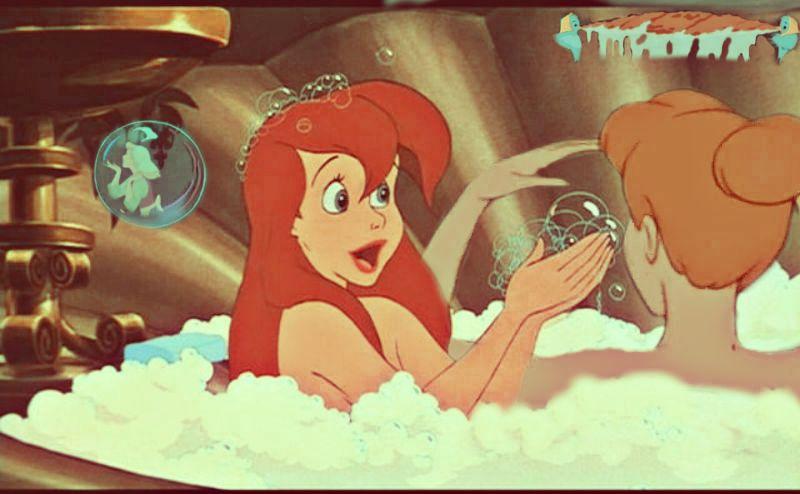 灰姑娘 and Ariel