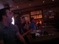 Watching sports with Declan, Barry and a few others