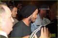 David Beckham: Melbourne Airport Arrival