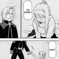 EdWin Manga Momemts - edward-elric-and-winry-rockbell photo