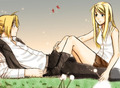 Edwin - edward-elric-and-winry-rockbell fan art