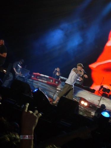Eminem live in Melbourne