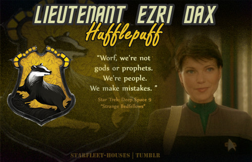 estrella Trek: Deep el espacio Nine fondo de pantalla containing anime titled Ezri Dax - Hufflepuff