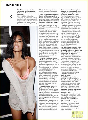 FHM - January 2012 - olivia-munn Photo