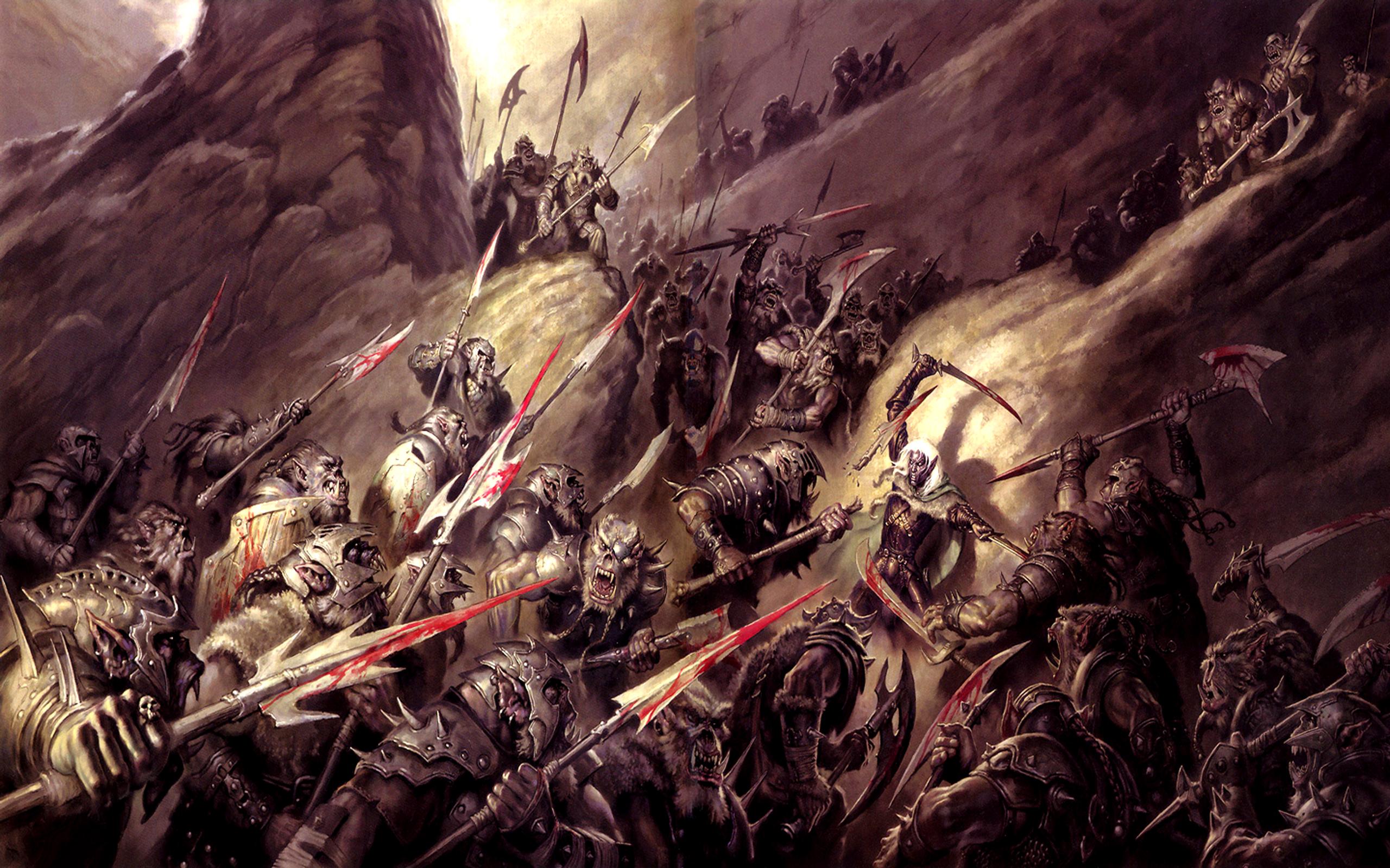 Fantasy fantasy battle