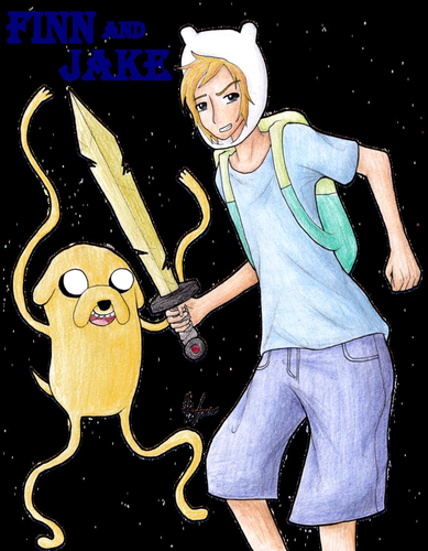 Finn and Jake!! - adventure-time-with-finn-and-jake Fan Art