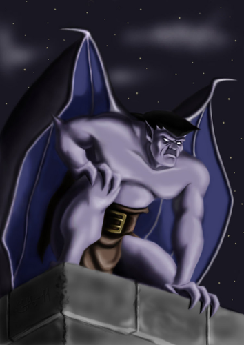 Gargoyles - gargoyles Fan Art