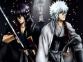 Gintoki & Takasugi - gintama wallpaper