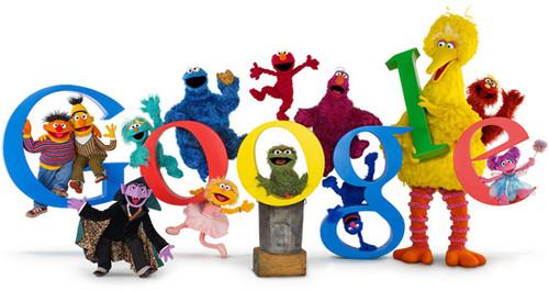 Google...Sesame mitaani, mtaa