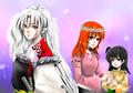 Hikari,Sesshoumaru and Rin