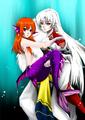 Hikari and Sesshoumaru 2