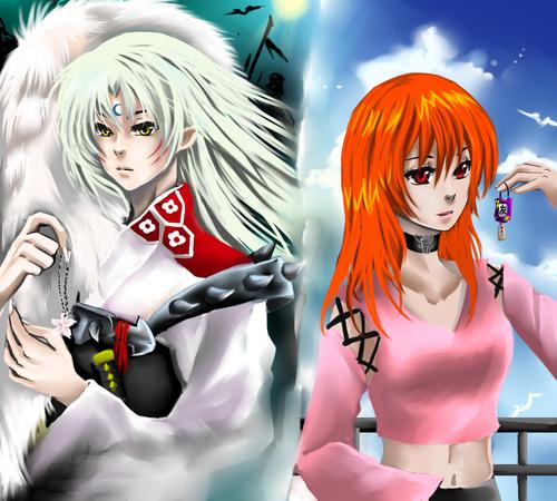 Hikari and Sesshoumaru