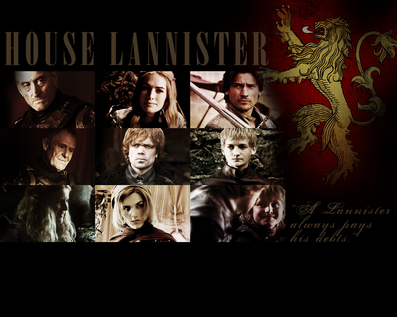 house of lannister House lannister sigil: golden lion on a field of crimson motto: hear me roar the cake: a red velvet cake with raspberry compote, cream cheese filling, whipped mascarpone filling, and fluffy vanilla frosting the outside of this cake looks very proper, clean, decorated perfectly, because, for the lannisters, appearances are everything.