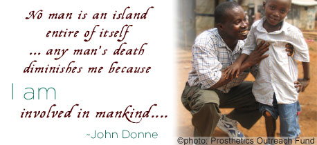 Human Rights nukuu - John Donne