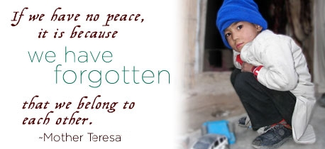 Human Rights frases - Mother Teresa