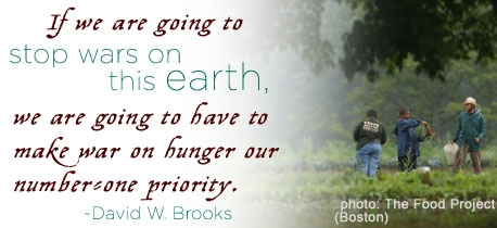 Human Rights - Quotes on Hunger - David W. Brooks