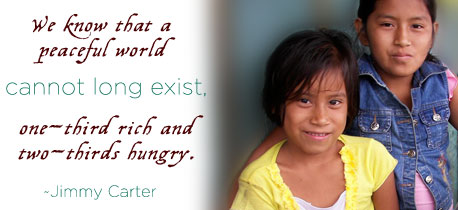 Human Rights - frases on Hunger - Jimmy Carter
