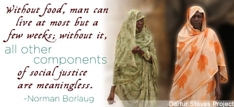 Human Rights پیپر وال titled Human Rights - Quotes on Hunger - Norman Borlaug