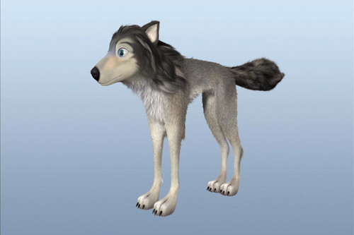 "Humphry from the movie ""Alpha and Omega"" kertas dinding titled Humphrey"