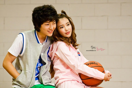 iu & Lee Joong Ki for Le Coq Sportif
