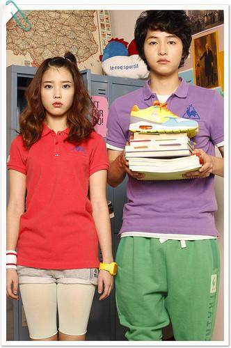 आई यू & Lee Joong Ki for Le Coq Sportif