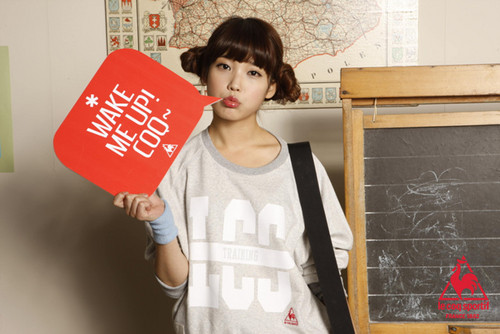 iu for Le Coq Sportif