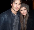 Ian and Nina - ian-somerhalder-and-nina-dobrev screencap