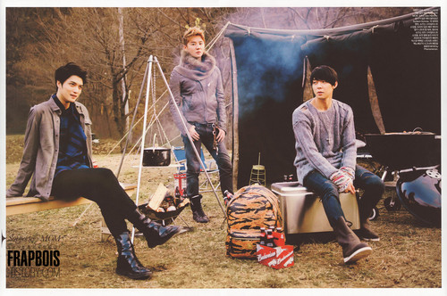 JYJ For Elle Magazine