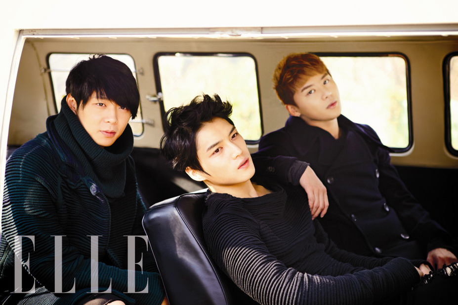 JYJ For Elle Magazine