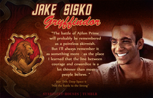 nyota Trek: Deep Space Nine karatasi la kupamba ukuta possibly containing anime called Jake Sisko - Gryffindor