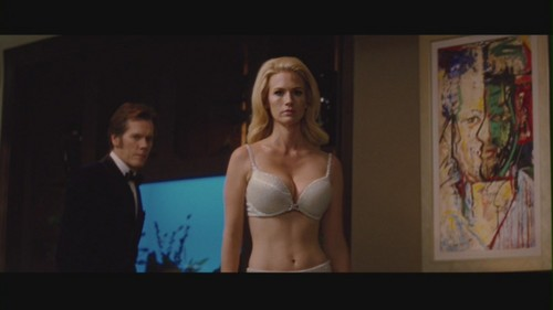 """January Jones wallpaper probably with a brassiere, attractiveness, and a lingerie entitled January Jones in """"X-Men: First Class"""""""