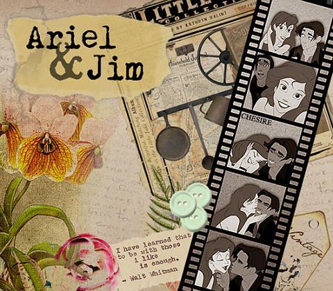 Jim and Ariel's Scrapbook