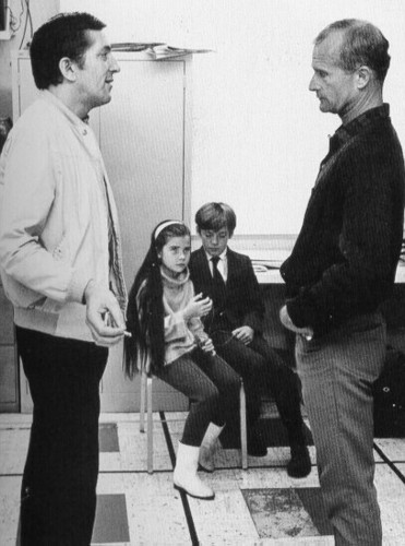 Jonathan Frid, Louis Edmonds, Sharon Smyth, and David Henesy