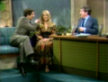 Jonathan Frid on &quot;The Merv Griffin Show&quot; (1970) - dark-shadows photo