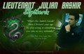 Julian Bashir - Slytherin - star-trek-deep-space-nine fan art