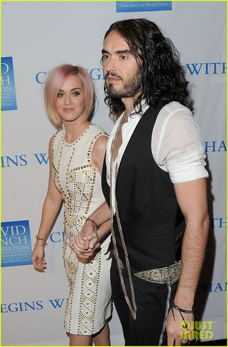 Katy Perry & Russell Brand: Change Begins Within Gala!