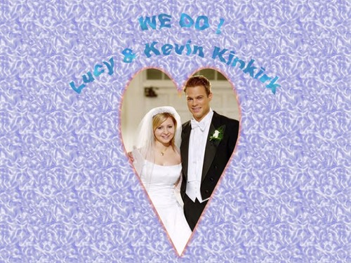 Keven & Lucey On They're Wedding 일