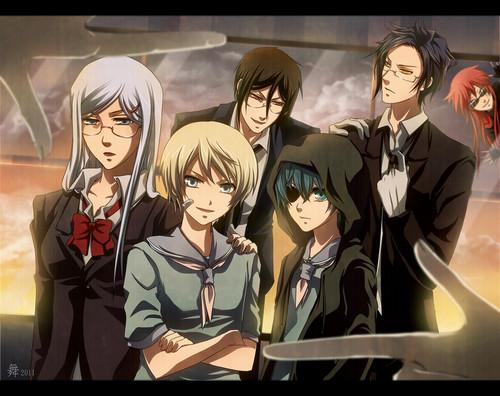 Kuroshitsuji Characters