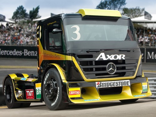 Mercedes-Benz wallpaper entitled MERCEDES - BENZ AXOR FORMULA TRUCK