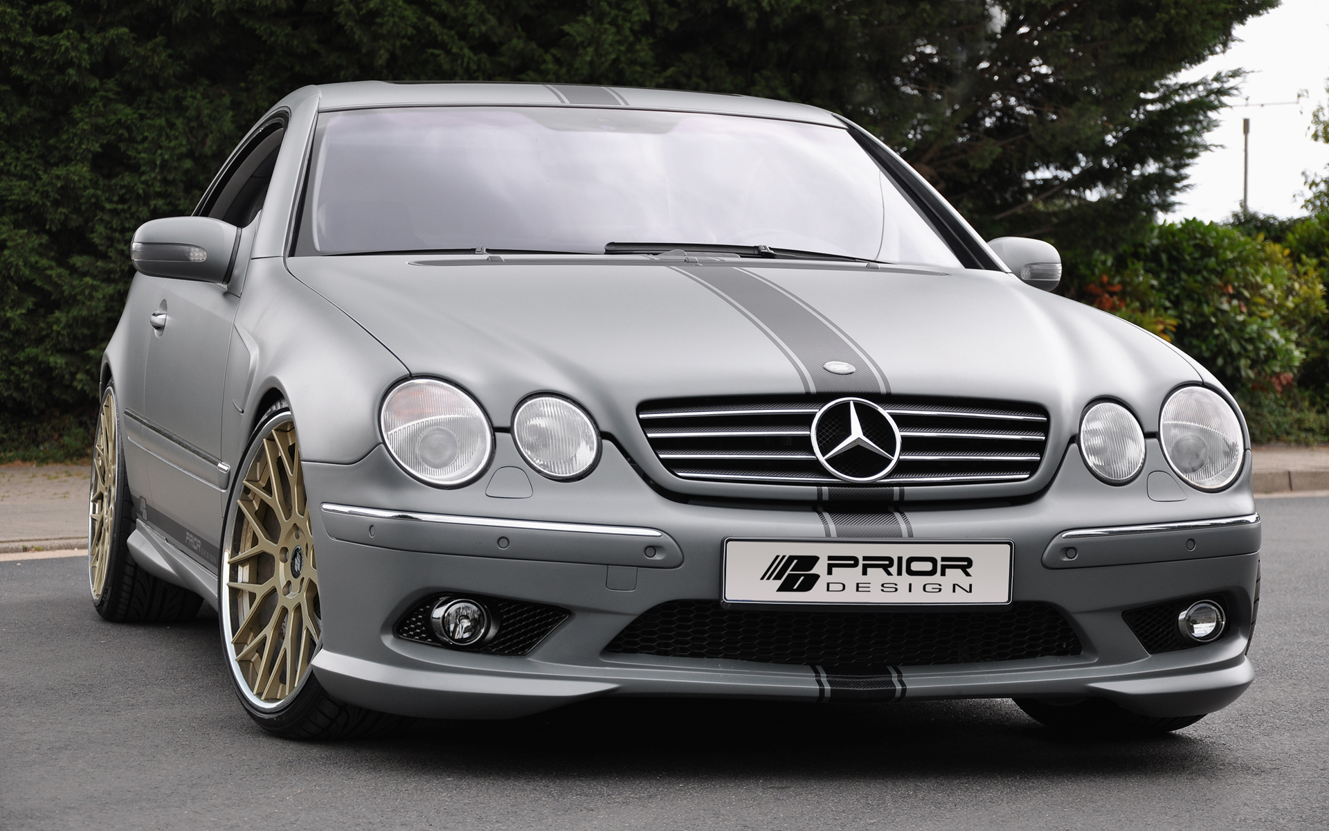 mercedes benz cl class by prior design mercedes benz