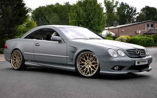 MERCEDES - BENZ CL CLASS سے طرف کی PRIOR DESIGN