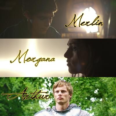Merlin-Morgana-Arthur