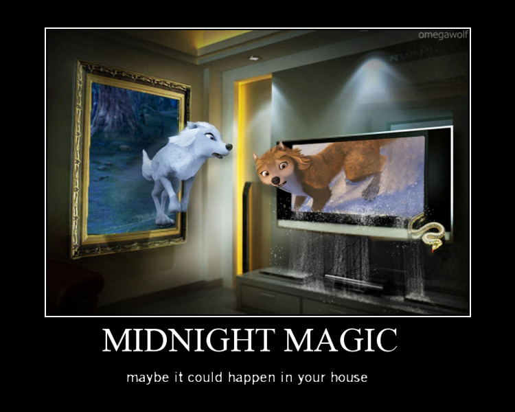 Midnight magic out of bounds!