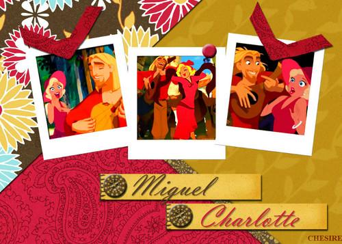Miguel/Charlotte 壁纸