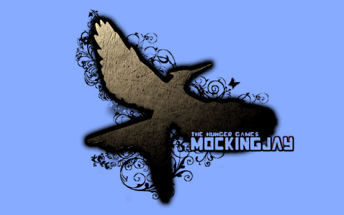 The Hunger Games wallpaper probably with a fleur de lis titled MockingJay