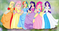 My Little Princesses - my-little-pony-friendship-is-magic fan art