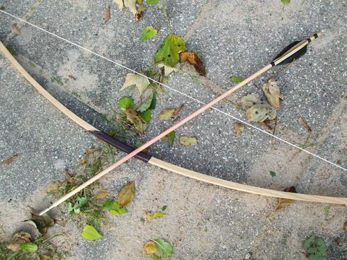 My bow & arrow