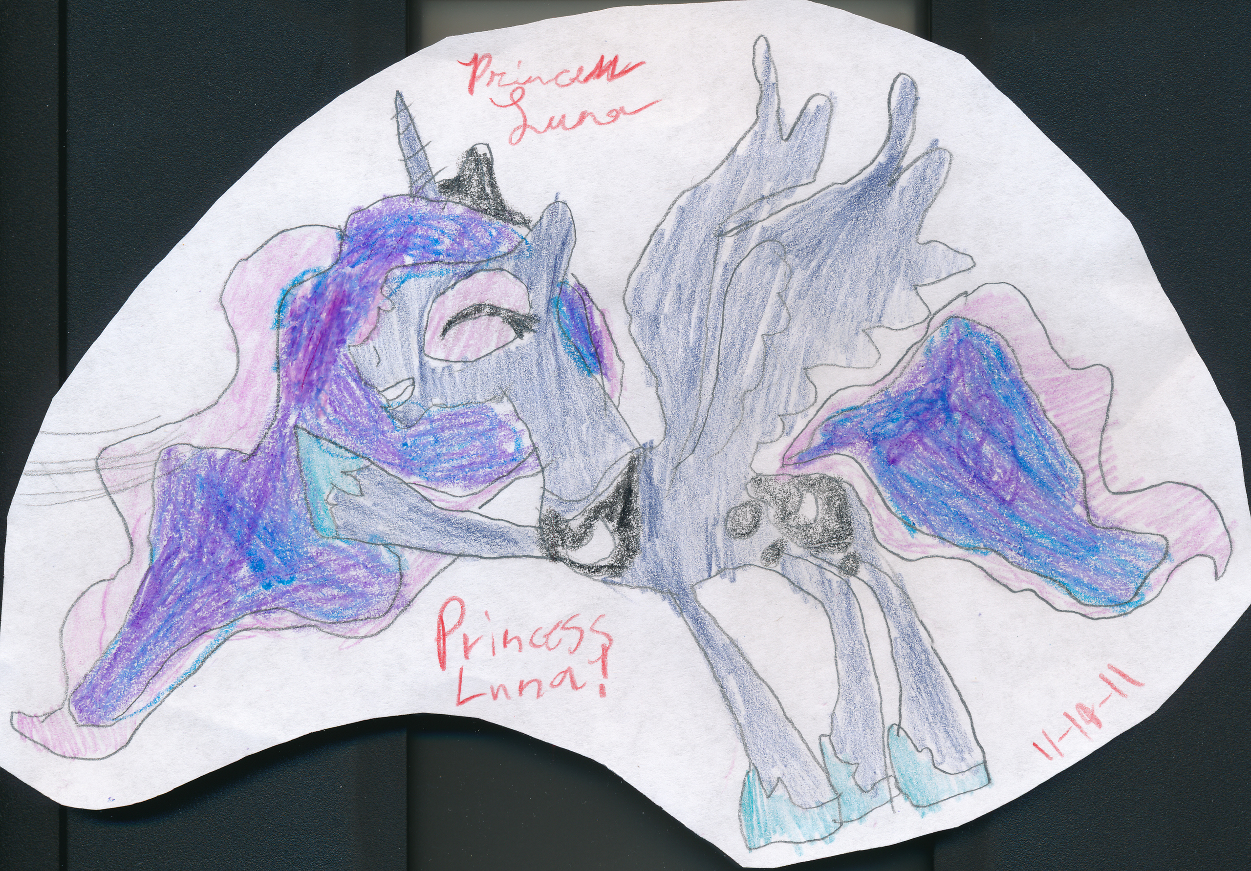 My drawing of Princess Luna