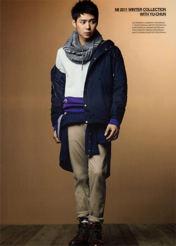 JYJ wallpaper with an outerwear, a hip boot, and a pantleg called NII Winter Collection