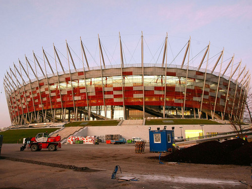 UEFA Euro 2012 wallpaper titled National Stadium, Warsaw (Poland)